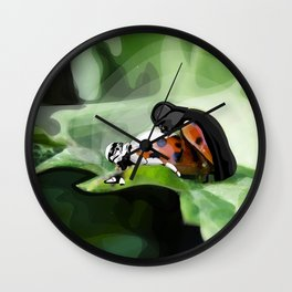 The strength of nature Wall Clock