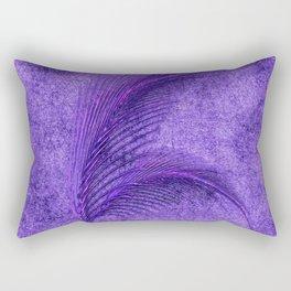Fern Deep Purple Autumn and Winter Rectangular Pillow
