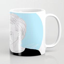 Blue Circle Coffee Mug