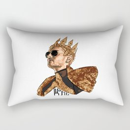 King Bill - Black Text Rectangular Pillow