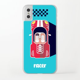 Racer Clear iPhone Case
