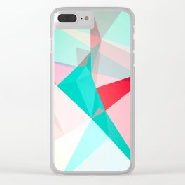 FRACTION - Abstract Graphic Iphone Case Clear iPhone Case