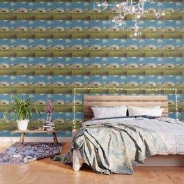 """Odilon Redon """"Breton Village"""" Wallpaper"""