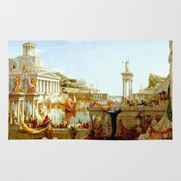 Cole Thomas The Consummation The Course of the Empire Rug