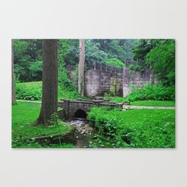 The Echoes of Our Souls Canvas Print