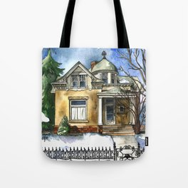 The Little Brown Bungalow Tote Bag