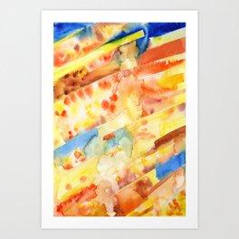 Watersplat - Series 2, 05 Art Print