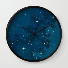 Northern Skies I Wall Clock