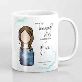 A Signal Fire of Grace Coffee Mug
