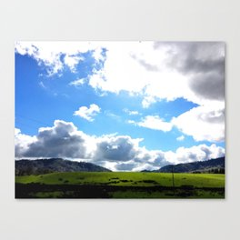 Lost but Found Canvas Print