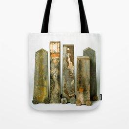 Residual Village No2 by Annalisa Ramondino Tote Bag