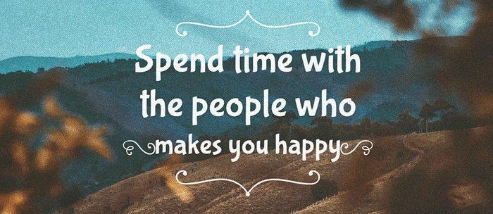 Spend time with the people who makes you happy. Coffee Mug