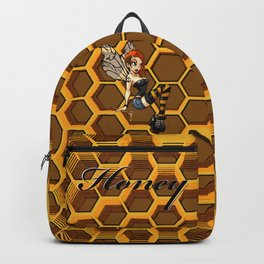 Pinup Honey Bee Backpack