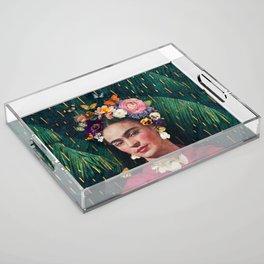 Frida Kahlo :: World Women's Day Acrylic Tray