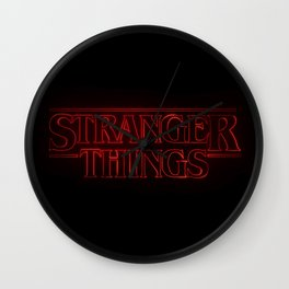 Strange thing Wall Clock