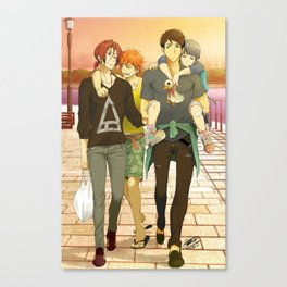 Team Samezuka Canvas Print