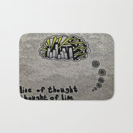 Line of Thought Bath Mat