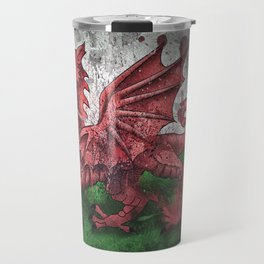 Welsh Dragon Travel Mug