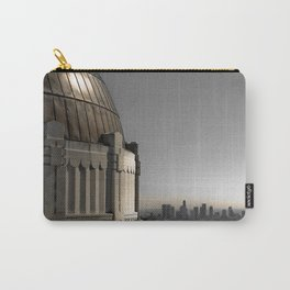 Griffith Park Observatory with Downtown LA Skyline Carry-All Pouch