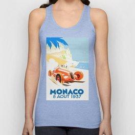 Grand Prix Monaco 1937 Unisex Tank Top