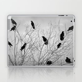 A Murder of Crows Laptop & iPad Skin