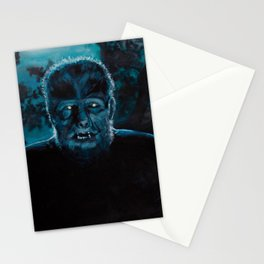 Wolf-Man on the Hunt Stationery Cards