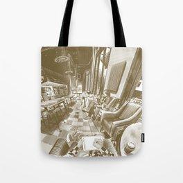 Coffee shop Tote Bag