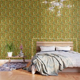Autumn gnome garden Wallpaper