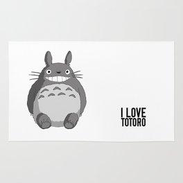 I Love Totoro Rug