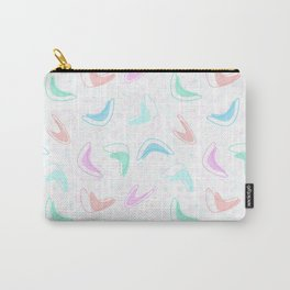 Retro Boomerang Diner Countertop Carry-All Pouch