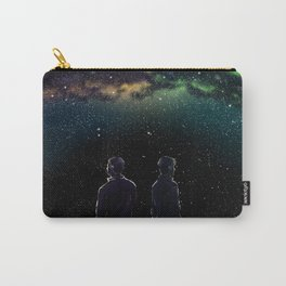 John and Rodney - A Galaxy Away Carry-All Pouch