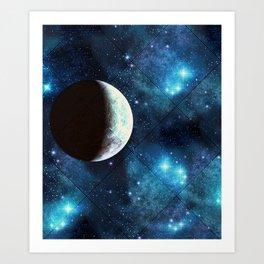 Moonbeam Art Print