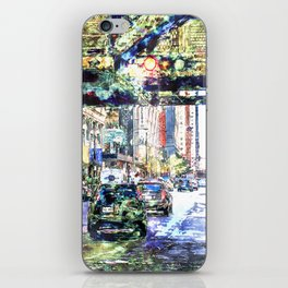 Scenes In The City iPhone Skin