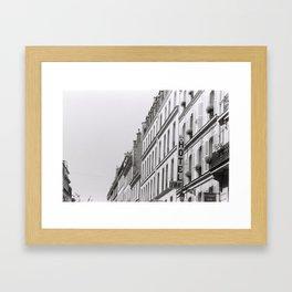 Hotel in Paris Framed Art Print