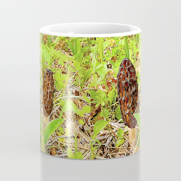Morchella surrealis Coffee Mug