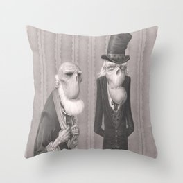 Isaiah and Bartholomew Throw Pillow
