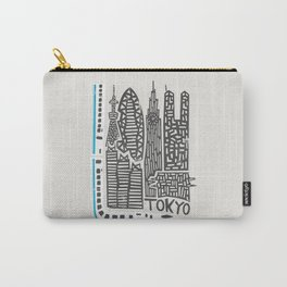 Tokyo Cityscape Carry-All Pouch