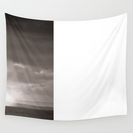 Rainy Plain Wall Tapestry