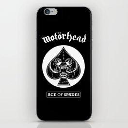 MOTORHEAD - SPADES iPhone Skin