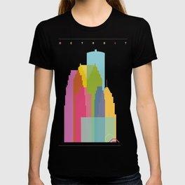Shapes of Detroit T-shirt