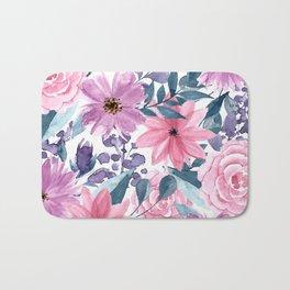 FLOWERS XII Bath Mat