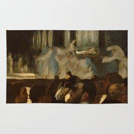 "Edgar Degas ""The Ballet from ""Robert le Diable"""" Rug"