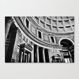 Rome Noir Canvas Print
