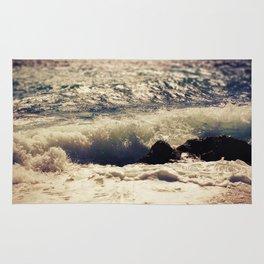 autumn sea Rug