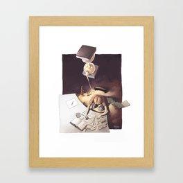 KISS (keep it simple) Framed Art Print