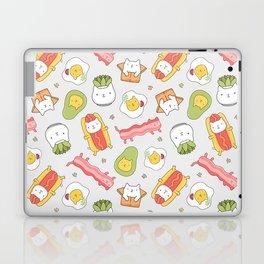 Cat food and succulent Laptop & iPad Skin