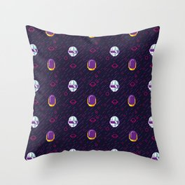 Daft Punk Pattern Throw Pillow