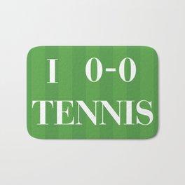 I heart Tennis Bath Mat