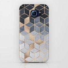 Soft Blue Gradient Cubes Galaxy S8 Slim Case