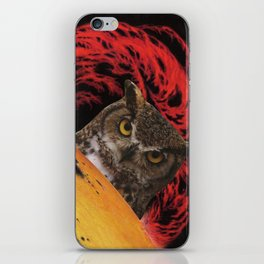 The Owls Are Not What They Seem iPhone Skin